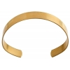 Brass Cuff Bracelets Flat Band 0.44in Wide  - Individual